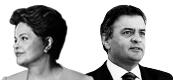 Dilma Rousseff e Aécio Neves