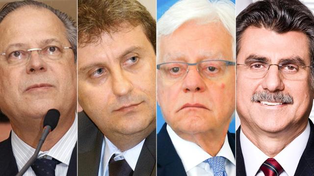 Planilha das empreiteiras apelida diversos políticos