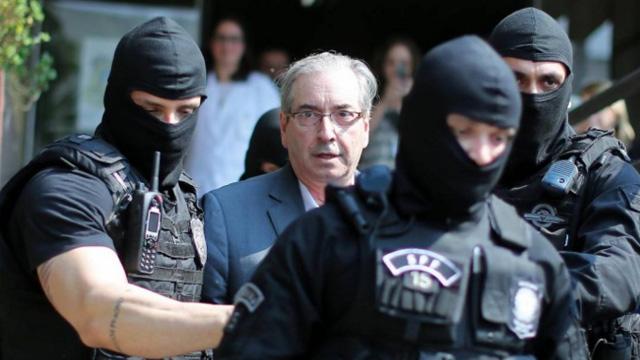 Supremo rejeita recurso e mantém prisão de Eduardo Cunha