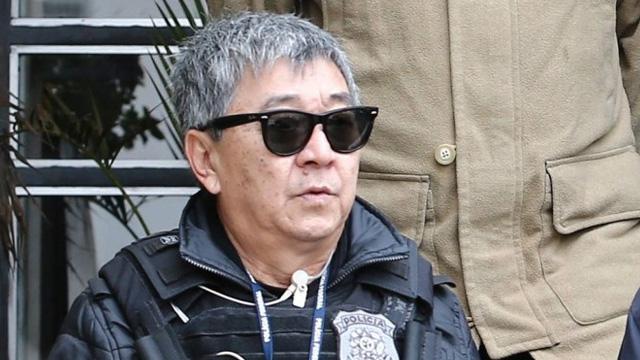 Newton Ishii foi preso em flagrante em 2003, por contrabandear produtos do Paraguai - Geraldo Bubniak / Agência O Globo