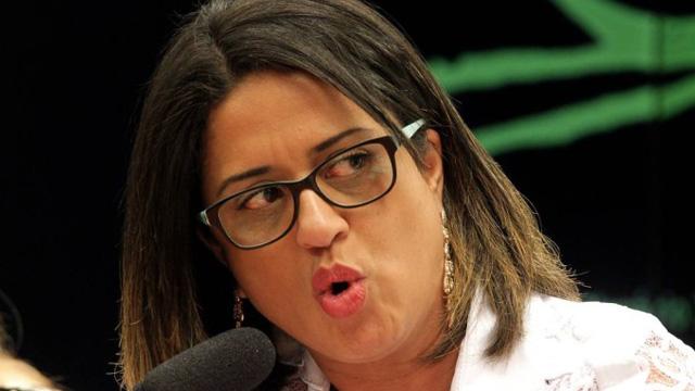 Contadora Meire Bonfim da Silva Poza prestou depoimento ao Conselho de Ética da Câmara nesta quarta-feira - Ailton de Freitas / Agência O Globo