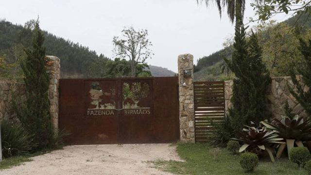 Fazenda Três Irmãos '' Paraiba do Sul '' propriedade de Carlos Emannuel de Carvalho Miranda, ex-assessor de Sérgio Cabral - Domingos Peixoto / O Globo