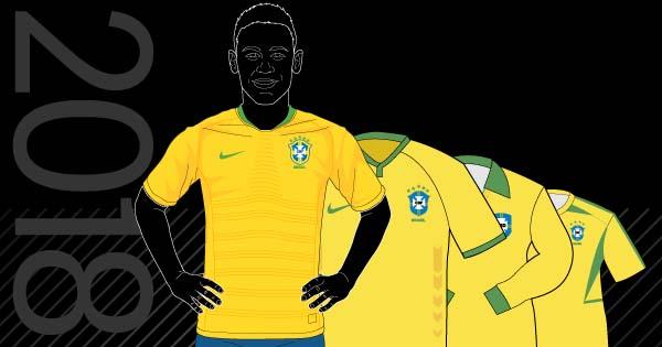 O Globo - Camisas da seleção fe49c4f915799