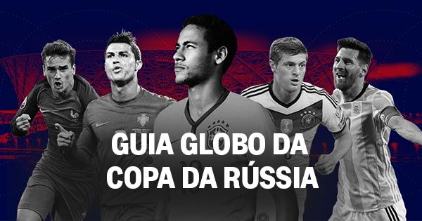 O Globo - Guia da Copa a4684510e91be